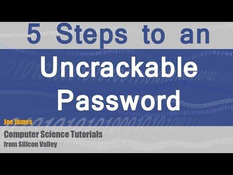5 Steps to a Secure Uncrackable Password