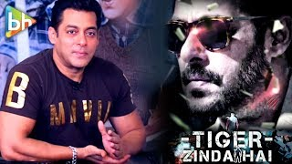 Tubelight Is An Emotional Challenge, Tiger Zinda Hai Is Physical Challenge | Salman Khan