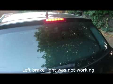 How to replace a brake light bulb for Astra H Mk5 2004-2009 (left side)