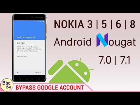 How To  Bypass Google Account Nokia 3   5   6   8  Android 7.0   7.1.1   New Solution
