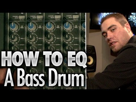 How To EQ A Bass Drum - Drum Lessons
