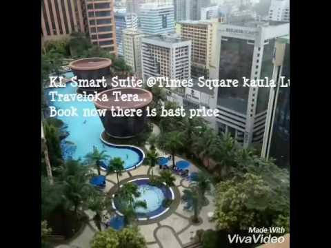 KL Smart Suite @Times square kaula Lumpur  Traveloka Tear 👆
