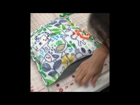 Mitsy Kit Fleece Pillow Instructions