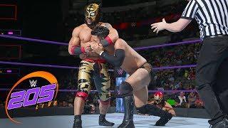 Lince Dorado vs. Hideo Itami: WWE 205 Live, March 20, 2018