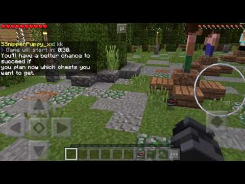 Minecraft PE Hunger Games Seed