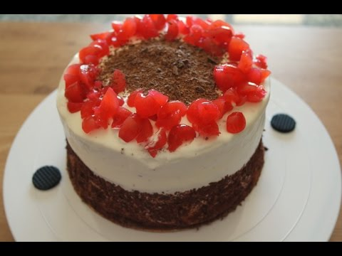 🍒 BLACK FOREST CAKE RECIPE 🍒 | EM'S BAKING