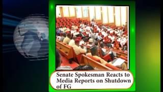 Senate Spokesman Reacts To Media Reports