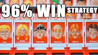 BEST Guess Who Strategy- 96% WIN record using MATH