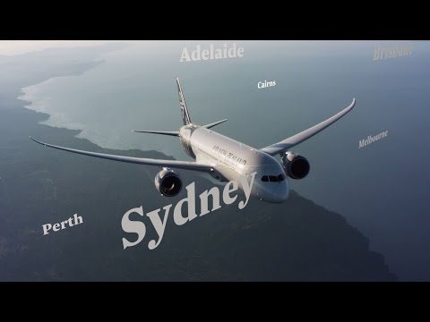 Air New Zealand, North America to Australia