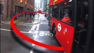Disappearing Cycle Lane