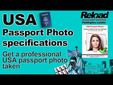 US Passport Photo snapped in London, Paddington @Reload Internet