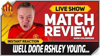 Goldbridge! Ashley Young Out! Wolves 2-1 Manchester United Match Reaction