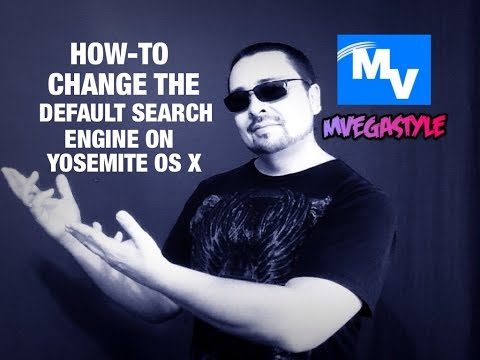 How to quickly change the default search engine on Safari for Yosemite OS X