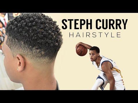 💈 STEPH CURRY HAIRCUT | TWIST SPONGE | CURL SPONGE 💈