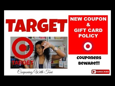 Target New Coupon Policy at MY STORE | Effective October 2016