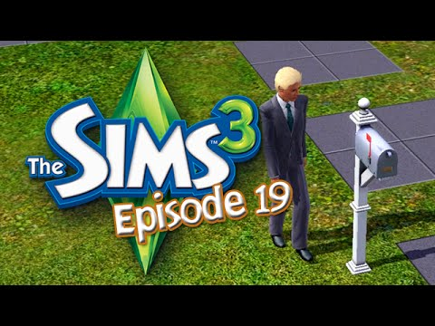 Let's Play The Sims 3 - E19 Business Career Level 10