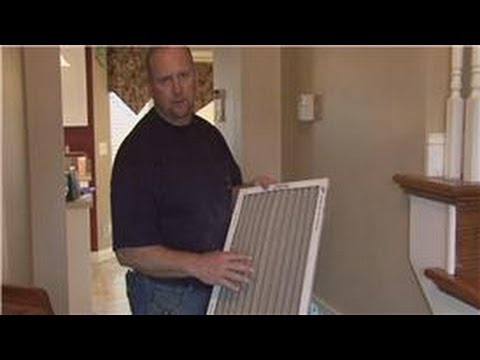 Basic Home Improvements : How to Install Air Filters