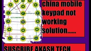 Mobile keypad problem solution and key pad ways , Nokia rm 1136