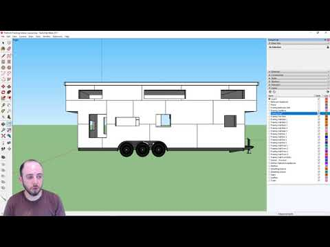 Part 11   Making a Material List from Sketchup Drawings   Designing a Tiny House in Sketchup