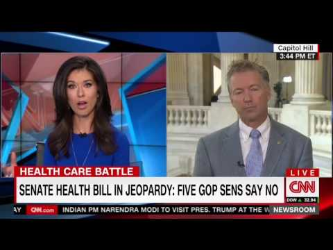 Rand Paul Teaches Reporter How Capitalism Works | Obamacare
