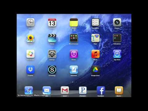 Deleting Unnecessary Files from Your iPad