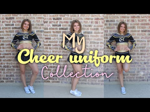 Cheer uniform collection!