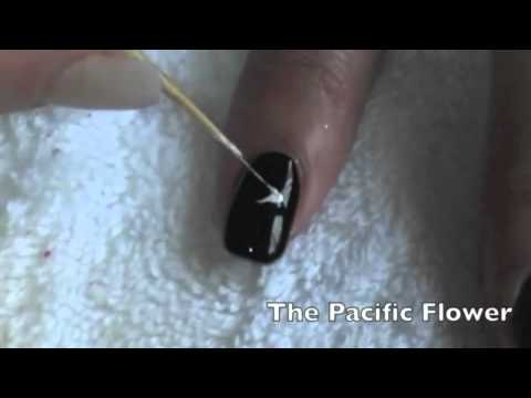 3 Easy Flower Nail Art Designs
