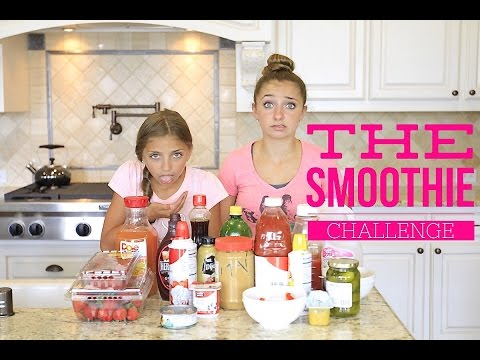 The Smoothie Challenge | Brooklyn and Bailey