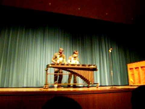 HFHS Talent Show - Hiro Jung & Devaunte Shelton - Beatboxing/Marimba