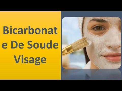 Le bicarbonate de soude pour le visage