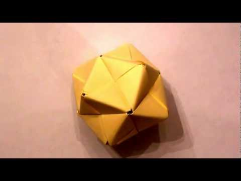 how to make an origami icosahedron