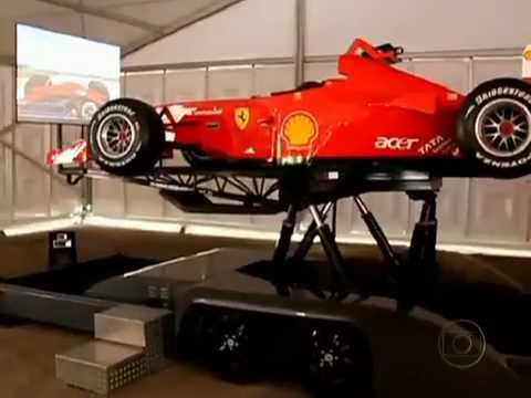 F1 Brazuca no Auto Esporte - Automobilismo Virtual - [12/02/2012]