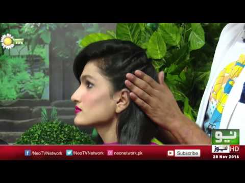 Neo Pakistan 28 November 2016 | Winter Hairstyles For Girls