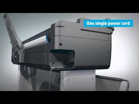 HP T830 - Super Affordable  All In One Large Format Printer In Singapore