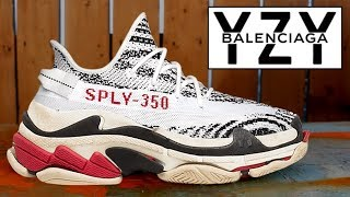 02465a5bf THE NEW 2018 YEEZY BALENCIAGA  5000 SNEAKER! (FIRST LOOK!)