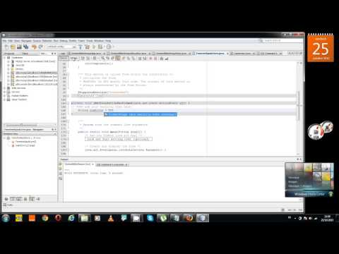 Application JAVA avec Netbeans + BD MySQL