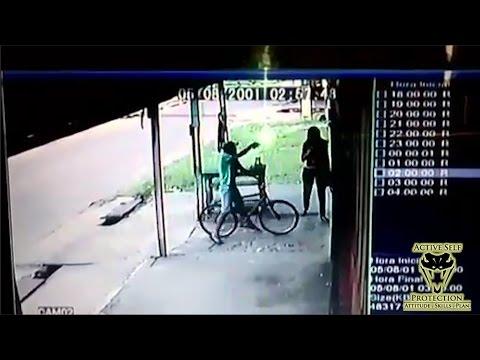 Woman Shot by ATM Mugger