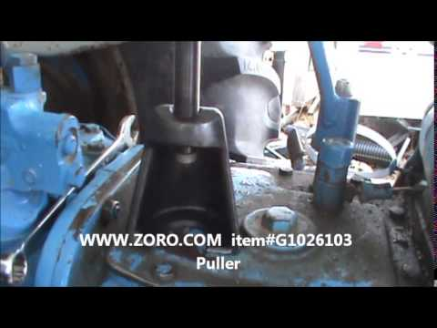 Ford 4000 Steering Sector Seal Replacement