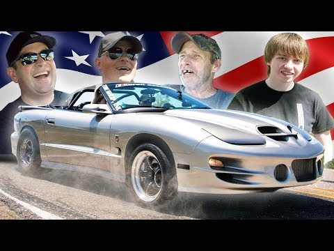 Sketchy Vert Makes Fans Day! (1000hp Trans Am Ride-Along)