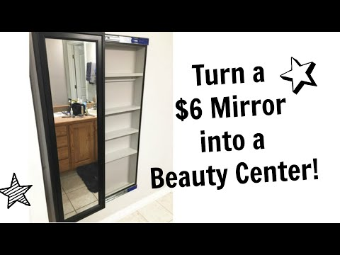 How to Build a Sliding Wall Mirror Cabinet