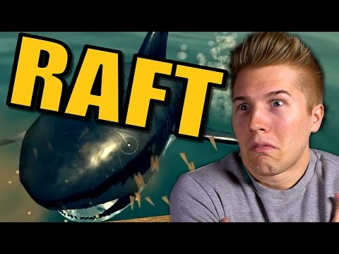 BUILDING MY RAFT MANSION! | Raft Survival Game [Gameplay] Let's Play Raft: Survival: Part 1