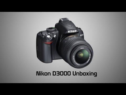 Nikon D3000 Unboxing