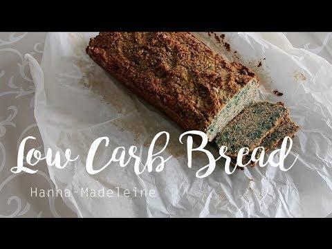 LOW CARB BREAD || how I make my LCHF zucchini bread || Hanna-Madeleine