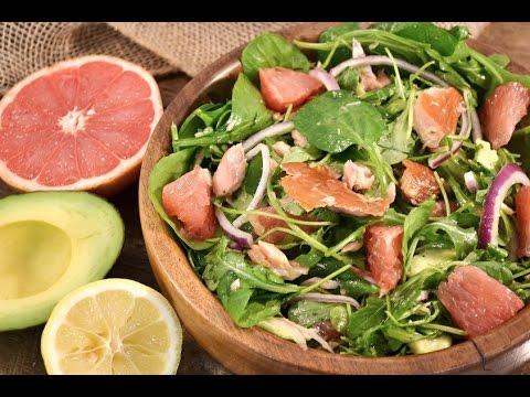 Smoked Salmon Avocado and Grapefruit Salad Recipe | RadaCutlery.com