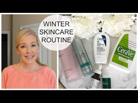 Over 40 Anti-Aging Winter Skincare Routine | A NEW Must-Have!