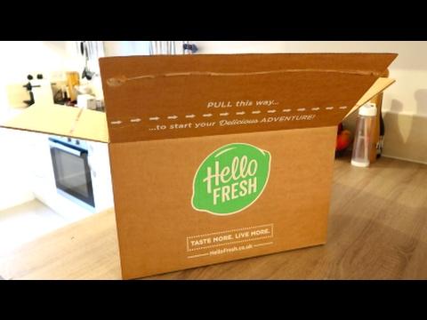 Hello Fresh Unboxing / Gnocchi Bolognese / AD