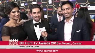 6th Hum TV Awards 2018 Toronto, Canada