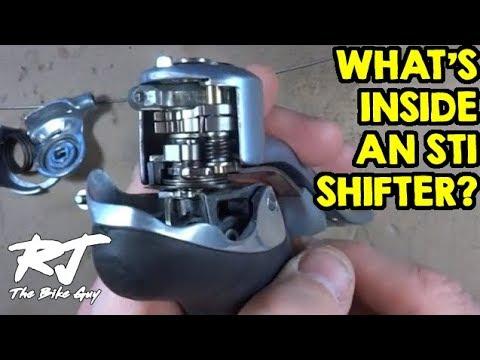 What's Inside A Shimano STI Shifter? How Do STI Shifters Work?
