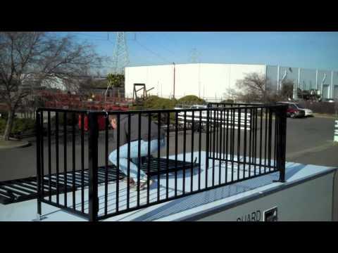 TPD Trailers Inc. Custom Observation Deck