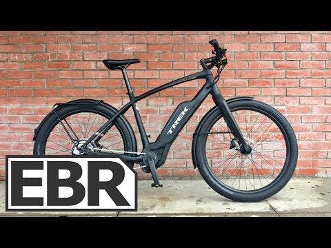 Trek Super Commuter+ 7 Video Review - $3.6k Stealthy Urban Electric Bike, 20 mph Bosch Performance